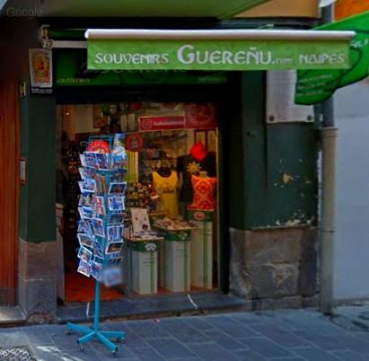 Tienda Guereñu en la calle Cuchillería
